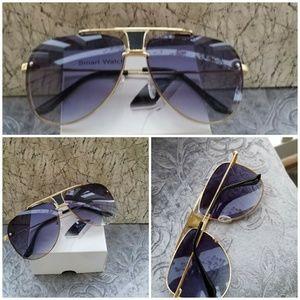 Accessories - Mesh WireSunglasses Women Brand new Metal Frame Ov
